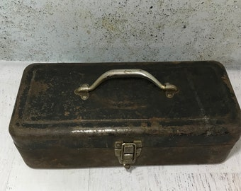 Metal tackle box Etsy
