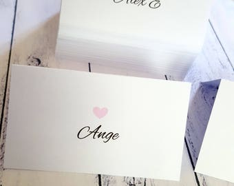 Wedding Place Cards | Name Cards x 100