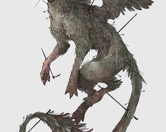 Coey: Trico, The Last Guardian (Prints)