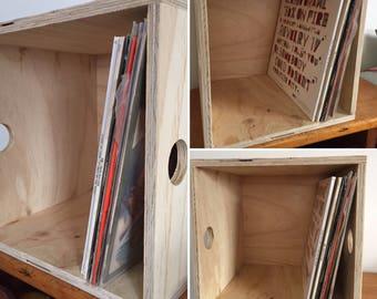 Plywood Vinyl Record Storage