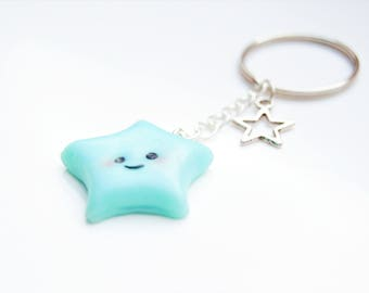 Keychain Kawaii Star