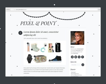 POLKA DOT Blog Design Kit