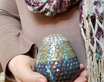 Dragon Eggs, Handmade Eggs, Dragons Eggs, Ceramic Eggs, Decorative Eggs,