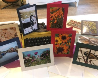 Mix and Match 5 Travel & Nature Photography Greeting Cards