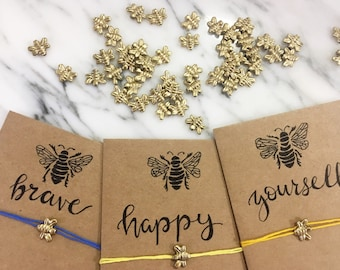 Bee Magical Wish Bracelets (Bee Bold)