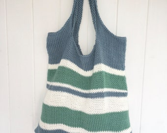 Pensacola Tote Bag - DIY Knitting Pattern