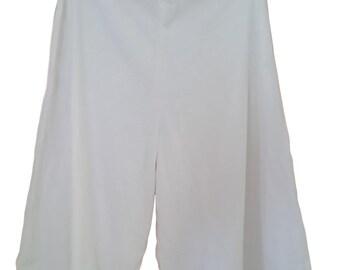 SALE Gaucho Pant Blank - 100% Cotton - Dyable Tie dye