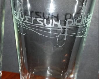Silversun Pickups Etched Pint Glasses