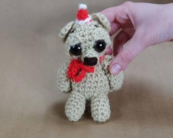 Christmas Bear Crochet Amigurumi