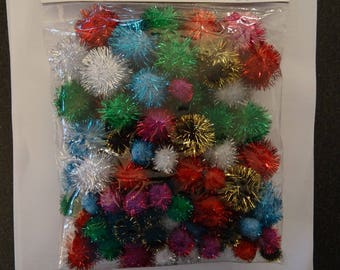 Gorgeous metallic tassels - Ideal for your Christmas decorations