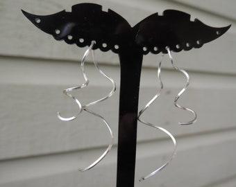 Earrings-Sterling Silver Earrings-Handmade silver earrings