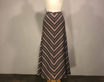 Full Circle Skirt, Maxi Bias Cut Skirt, Bias Cut Skirt, Boho Skirt, 70s Full Length Skirt