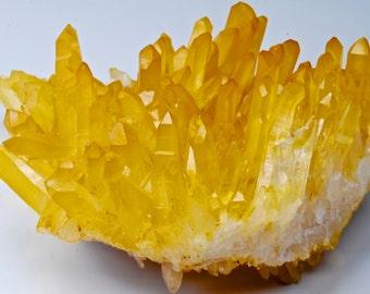 Golden Healer Arkansas Quartz Cluster
