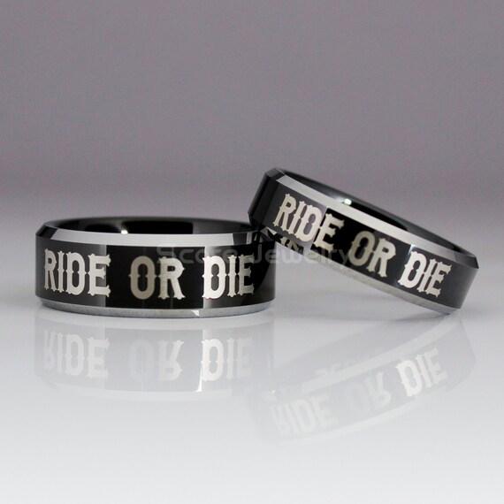 Ride Or Die Couple Rings