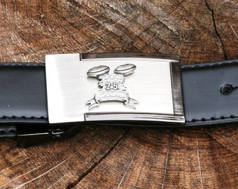 Clays Belt and Buckle Set Ideal Clay Game Skeet Shooting Gift Present Award