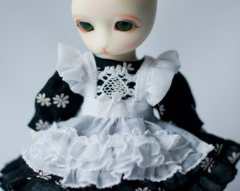 Dress for dolls 15cm, Pipos Junior, Pukifee, Lati Yellow.