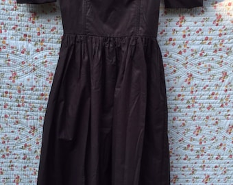 Vintage dress from Laura Ashley in black