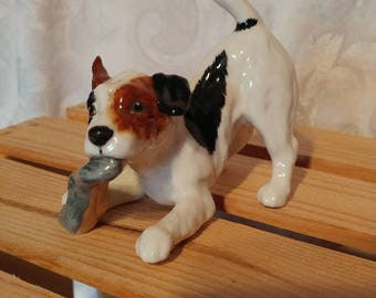 Vintage dog Royal Doulton HN 265, Mid century Dog Royal Doulton HN 265, VTG Royal Doulton hn 265