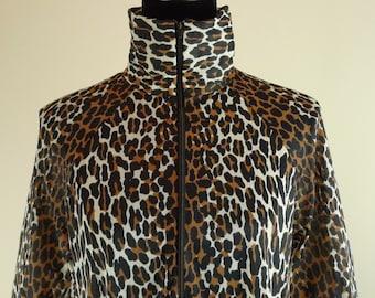 Butterfield Eight Leopard Loungewear Maxi Vintage