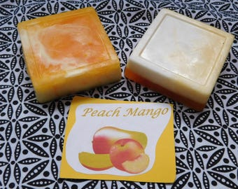 Peach-Mango hand soap