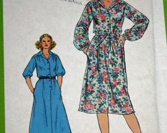 UNCUT, Simplicity 8679, Vintage, 1970s, Sewing Pattern, Misses', Dress and Tie Belt, Misses' Size 10, Estate Sale Find, OLD2NEWMEMORIES