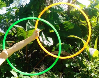 Minis Set: Color Polypro Poi Hula Hoops with Custom Tubing, Diameter & Grip Options!
