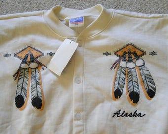 Vintage DEADSTOCK Sweatshirt Alarka Sz. S/M