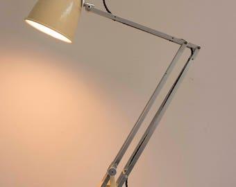 Vintage 1940s Hadrill & Horstmann 'roller' Table Lamp In Original Paint.