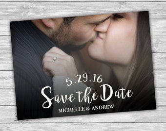 Custom Photo Save the Date, Photo Save the Date, Printable Save the Date, Personalized Save the Date, Digital Print, Picture, Single Photo