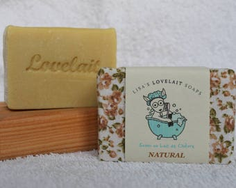 Unscented Hand made Goats Milk Soap