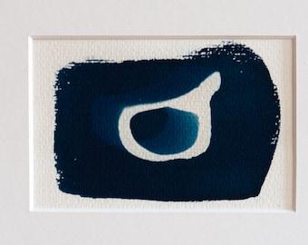 Blauwdruk oftewel cyanotype bone