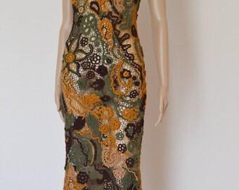 Hand made Irish lace summer dress, irish lace, lace dress, women's fashion, summer style dresses for women