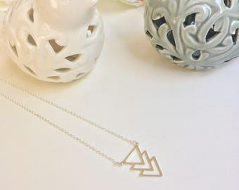 Colgate triangles in sterling silver