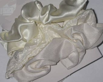 Dressy, Formal Hair Scrunchies - Size Large, Size Small, Girls, Ladies, Women, Hair Accessories, Rubber Bands, Hair, Pony Tails