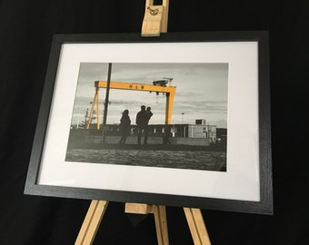 Harland & Wolff, Belfast - Framed Print(A4)