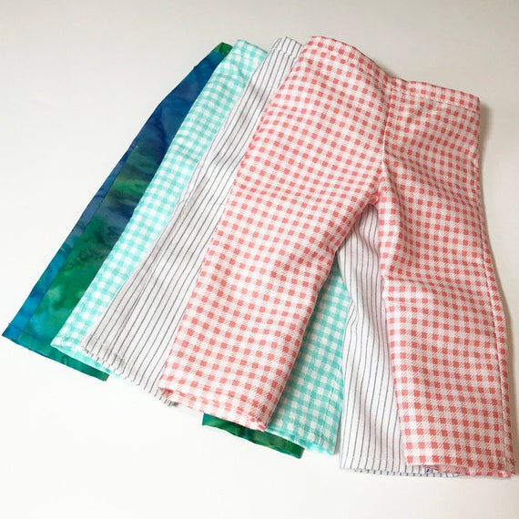 """Casual Cotton Pull-on Pants for American Girl and Other 18"""" Dolls"""