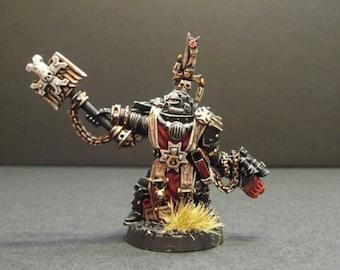 Black Templars Grimaldus Warhammer wargame