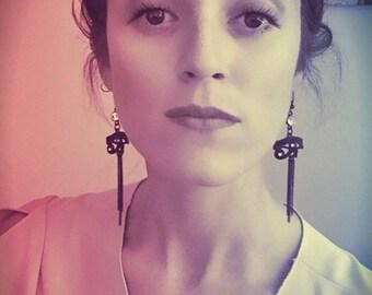 eye of horus dangle earrings~