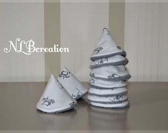Pee Teepees-set of 8 cotton Terry