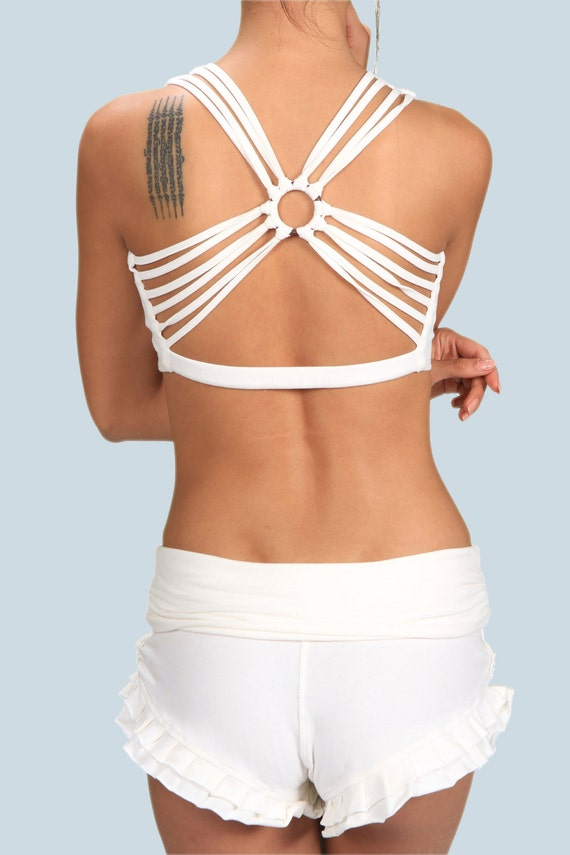 Spring Sale! Shanti Strappy Back Yoga Tank Top Festival Wear Gift  for Her Wholesale