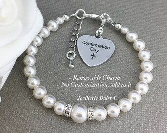 Goddaughter Gift Confirmation Day Gift Swarovski Bracelet Goddaughter Confirmation Gift Religious Jewelry Gift for Goddaughter Jewelry