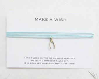 Wish bracelet, make a wish bracelet, wishbone bracelet, W10