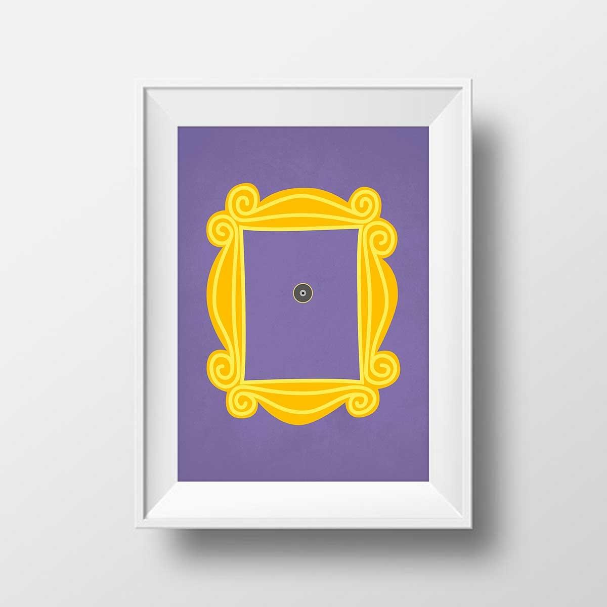Ausgezeichnet Freunde Guckloch Rahmen Fotos - Benutzerdefinierte ...