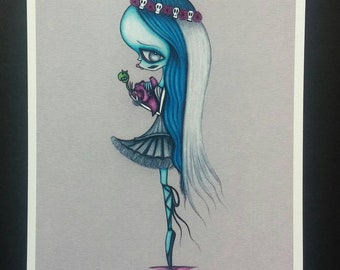Emily - Limited edition Fine art giclee print
