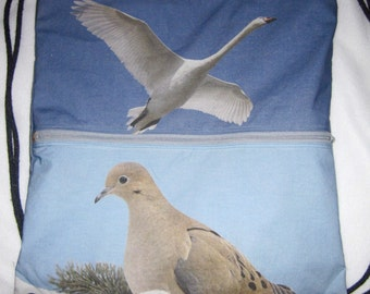 Favorite Bird Photos -  2 in 1 Backpack/tote