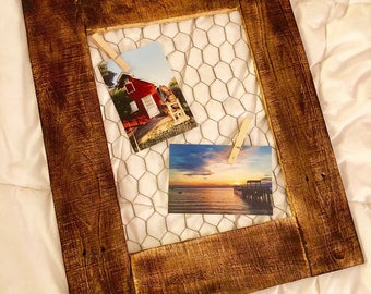 Chicken Wire Frame Wall Hangings