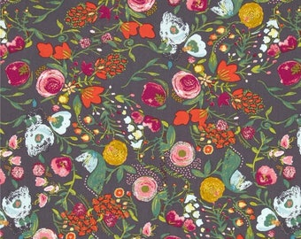 Budquette Nightfall Emmy Grace by Bari J. - Art Gallery Fabric Quilting Cotton 1/2 Yard+
