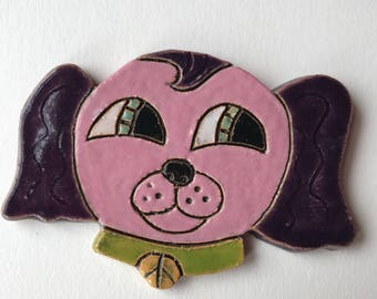 Cuteware Purple Puppy Medallion