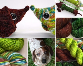 Preorder for Rusty Kit on Bus Worsted Pattern included
