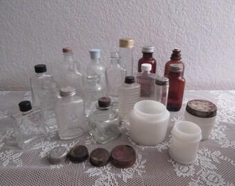 Vintage Assortment of Bottles - 22